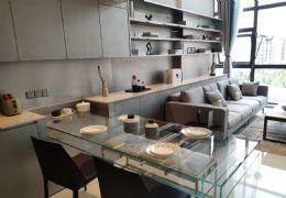 中创国际城5米层高42平复式派克公寓购一层得两层售