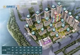 招商雍景湾 5套特价房 105平精装3房 好楼层
