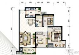 宝能城89平米3室2厅1卫出售  同小区最便宜一套