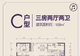 首付13万起-买蓉江新区三至五房-单价6556起