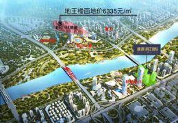 新区 滨江国际45平4.2米LOFT公寓带独立阳台