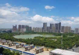 萬象城中央公園旁,公園一號大兩房,俯瞰中央公園湖景