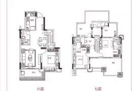 精装电梯顶复、双主卧设计、稀缺户型、只需176万