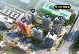 赣州中心天枢57平米 复式3房 毛坯精装交付不限购