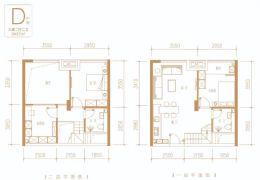 首期3万买中央公园万象城复试3室2厅2卫