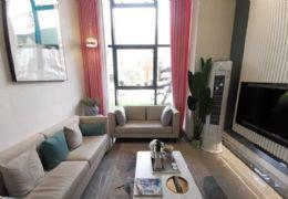新区中央公园旁 中心天枢 复式毛坯三房2厅2卫 仅