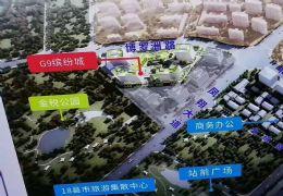 贛州高鐵西站出站口 臨街旺鋪  回報率高 投資首選
