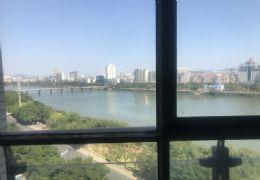 新區華源麗景江景房193平辦公精裝修4房帶車位僅售175萬