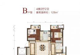 【低密度洋房】纯板楼结构,南北通透,一梯两户