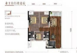 章江新区一线江景房113平米3室2厅2卫出售