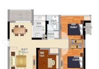 小区最便宜的一套漳江新区豪德校区南北通透的房子