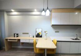 火车站旁精装1房公寓单价8千可租可住灵活变通