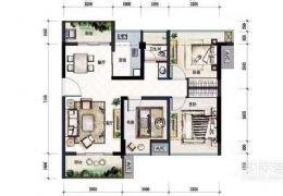 宝能城85平米3室2厅1卫出售