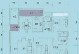 江山里 一线江景4房 南北通透双阳台 中高楼层