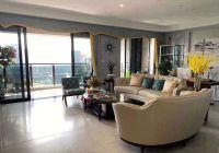 頂級豪宅 一線湖景中高樓層 豪裝四房誠心出售