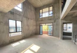 海亮天城,复式洋房,使用空间超大,房东急售235万