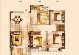 中海派豪装3房,绝佳楼层,美女房东一手房,满五!