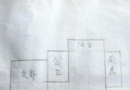 龙鑫华城85平米2房 南北通透户型 江景一梯两户的