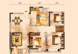 中海派 89方 通透3房 �r格到位 125�f高���