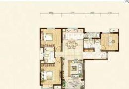 中海东郡B区121平米3室2厅2卫出售