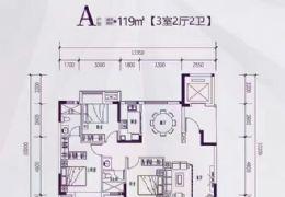 启迪•水木园127平米4室2厅2卫出售