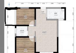 玖珑湾 毛坯2房可改三房,江景,仅售115万