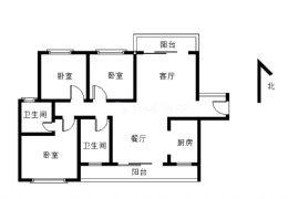 勁嘉山與城118平米3室2廳2衛出售