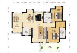 城央一品116平米3室2厅2卫出售