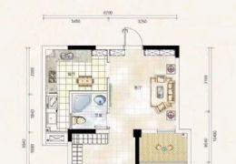 新區寶能城旁 一手房58平2室2廳 直接上戶