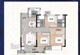 沙河大道112平米3室2廳2衛出售