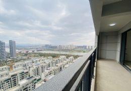 中海滨江一号一线江景4房,8米大阳台,4开间朝南