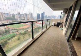 中央公园旁高端小区中航公园精装4房中间楼层视野开阔