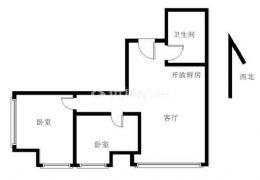 世纪嘉园泊岸公馆 70年住宅产权 平层两房温馨户型