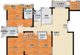 嘉福尚江尊品223平米5室2厅4卫出售
