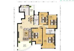 云星中央星城149平米大四房出售