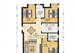 万达广场旁毛坯现房113平米3室112万