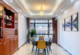 章江新区一线江景房,优美园林,豪华装修5房183平