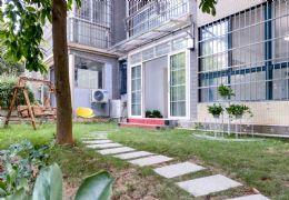 自带私家花园, 通透双阳台 ,高品质家具 !