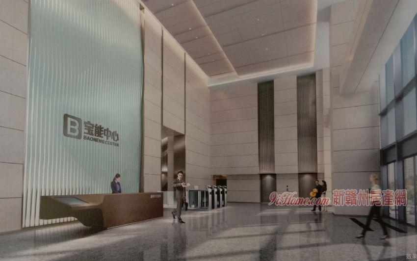 赣州地标宝能中心 218米云端智慧办公 5A写字楼_房源展示图4_新赣州房产网