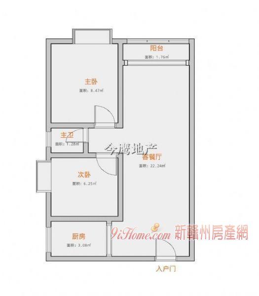 中廷广场70平米2室2厅1卫出租_房源展示图5_新赣州房产网