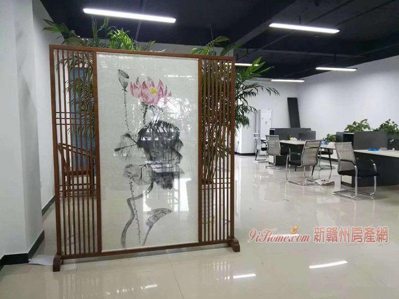 華潤大廈 湖景寫字樓 124平米 直接辦公_房源展示圖2_新贛州房產網