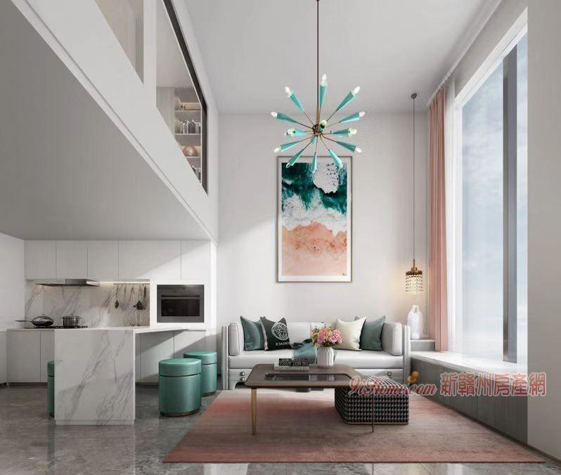 萬象城 中央公園 復式3室2廳2衛公寓 LOFT_房源展示圖6_新贛州房產網